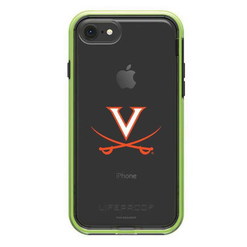 IPH-87-NF-SLA-UVA-D101: FB Virginia Cavaliers LifeProof iPhone 8 and iPhone 7 SLAM