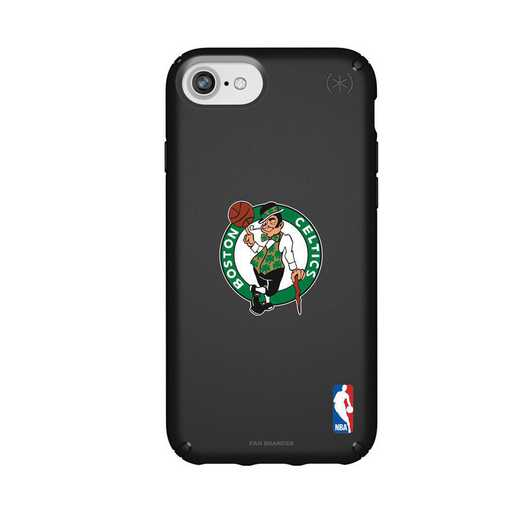 IPH-876-BK-PRE-BOS-D101: BL Speck Presido iPhone 8/7/6- Boston Celtics