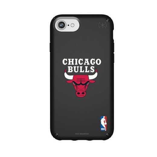 IPH-876-BK-PRE-CHBL-D101: BL Speck Presido iPhone 8/7/6- Chicago Bulls