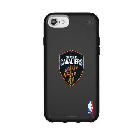 IPH-876-BK-PRE-CLC-D101: BL Speck Presido iPhone 8/7/6- Cleveland Cavaliers