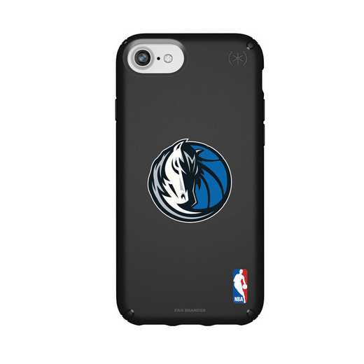 IPH-876-BK-PRE-DAM-D101: BL Speck Presido iPhone 8/7/6- Dallas Mavericks