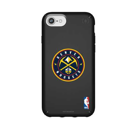 IPH-876-BK-PRE-DNT-D101: BL Speck Presido iPhone 8/7/6- Denver Nuggets
