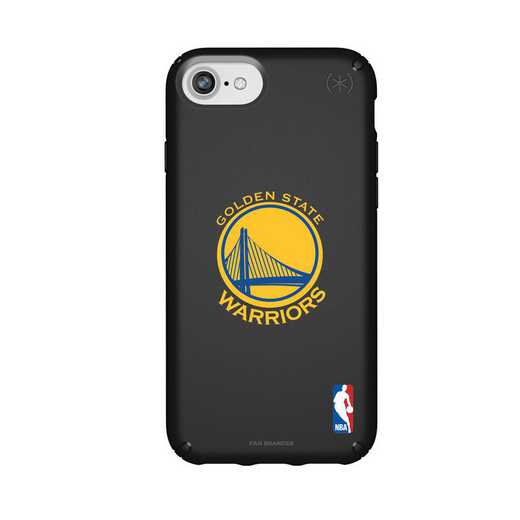 IPH-876-BK-PRE-GST-D101: BL Speck Presido iPhone 8/7/6- Golden State Warriors