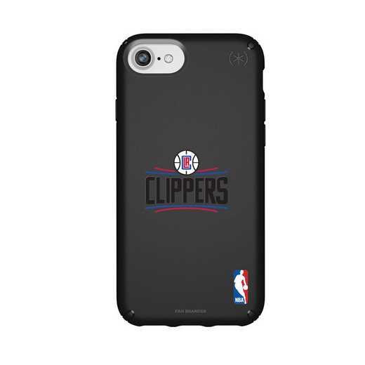 IPH-876-BK-PRE-LAC-D101: BL Speck Presido iPhone 8/7/6- LA Clippers