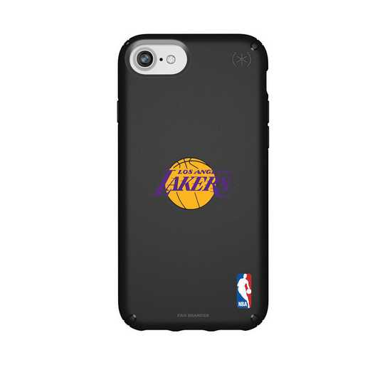 IPH-876-BK-PRE-LAL-D101: BL Speck Presido iPhone 8/7/6- LA Lakers