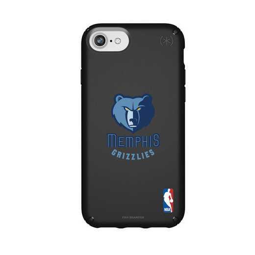 IPH-876-BK-PRE-MG-D101: BL Speck Presido iPhone 8/7/6- Memphis Grizzlies