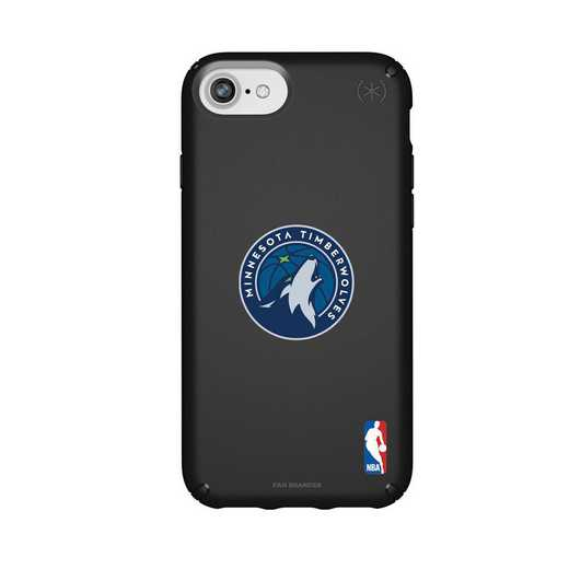 IPH-876-BK-PRE-MNT-D101: BL Speck Presido iPhone 8/7/6- Minnesota Timberwolves