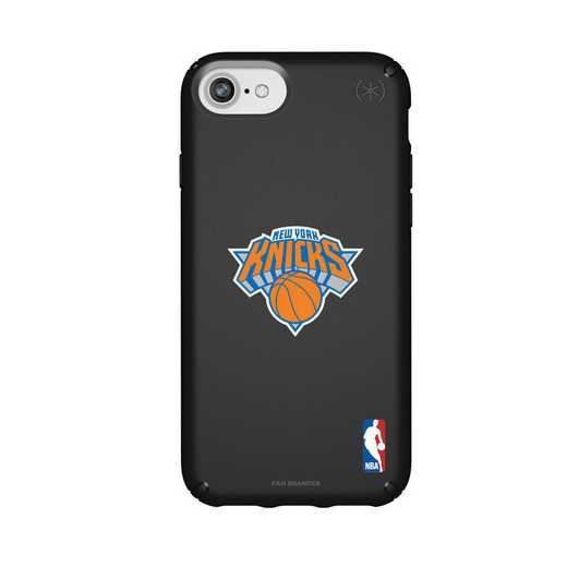 IPH-876-BK-PRE-NYK-D101: BL Speck Presido iPhone 8/7/6- New York Knicks