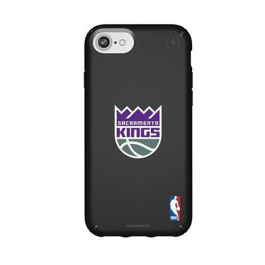IPH-876-BK-PRE-SAC-D101: BL Speck Presido iPhone 8/7/6- Sacramento Kings