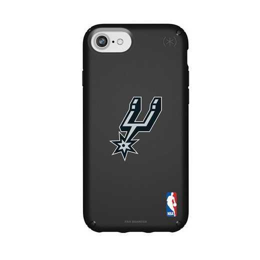 IPH-876-BK-PRE-SAS-D101: BL Speck Presido iPhone 8/7/6- San Antonio Spurs
