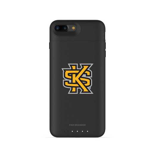 IPH-87P-BK-JPA-KSUA-D101: FB Kennesaw State Owls mophie iPhone 8 P & iPhone 7 P