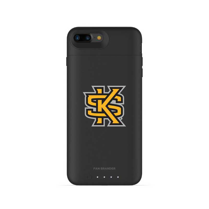 the latest f3ad1 31f5f Mophie Black iPhone 8 Plus and iPhone 7 Plus juice pack air series case  with Kennesaw State Owls