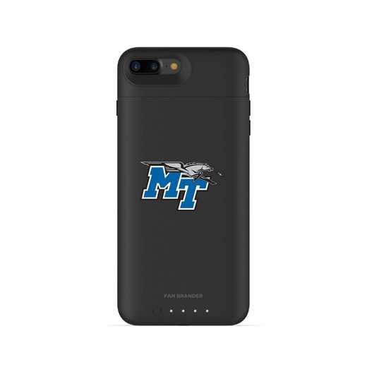 IPH-87P-BK-JPA-MTN-D101: FB Middle Tennessee St Blu Raiders mophie iPhone 8P iPhone7P