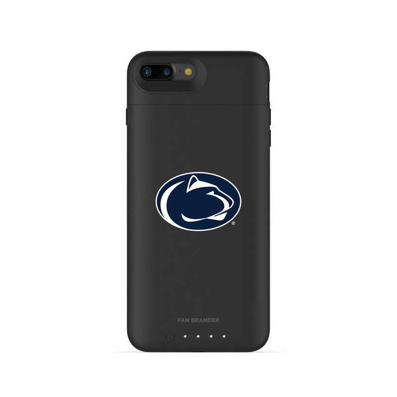 finest selection 34ffd a50e5 Mophie Black iPhone 8 Plus and iPhone 7 Plus juice pack air series case  with Penn St Nittany Lions