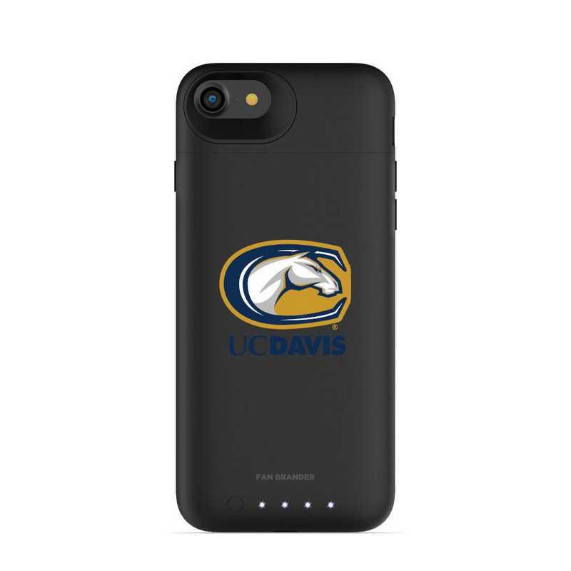 IPH-87P-BK-JPA-UCD-D101: FB UC Davis Aggies mophie iPhone 8 P & iPhone 7 P