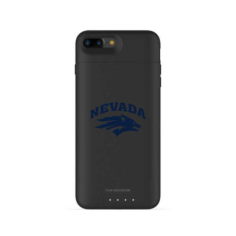 new style 039c7 783fa Mophie Black iPhone 8 Plus and iPhone 7 Plus juice pack air series case  with Nevada Wolf Pack