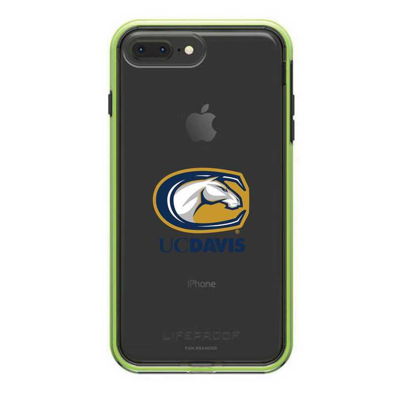 IPH-87P-NF-SLA-UCD-D101: FB UC Davis LifeProof iPhone 8 Plus and iPhone 7 Plus SLAM