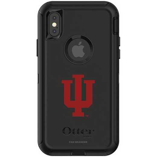 IPH-X-BK-DEF-IU-D101: FB OB iPhone X and XS Indiana