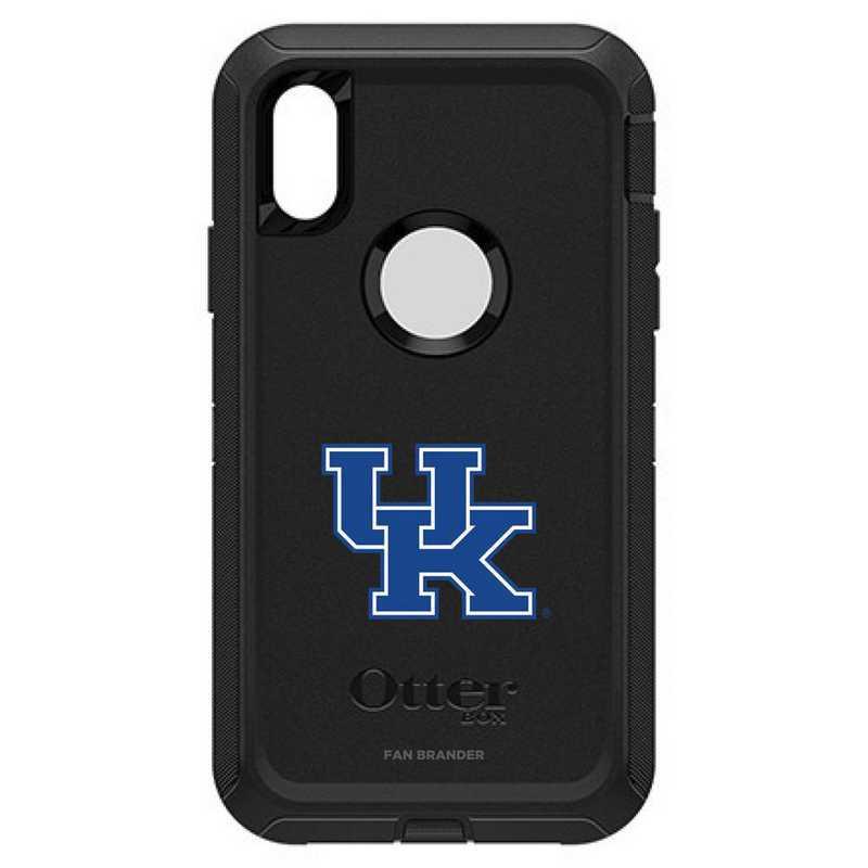 IPH-X-BK-DEF-KY-D101: FB OB iPhone X and XS Kentucky