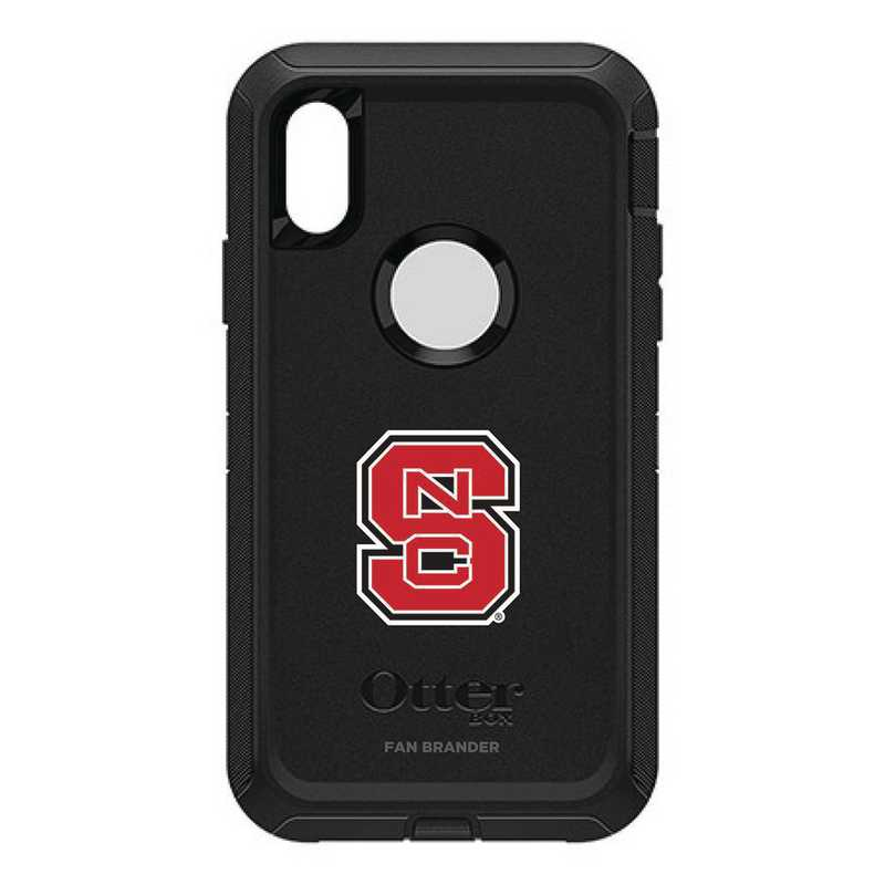 IPH-X-BK-DEF-NCS-D101: FB OB iPhone X and XS North Carolina State