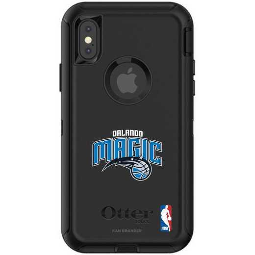 IPH-X-BK-DEF-ORM-D101: BL Orlando Magic OtterBox iPhone X/Xs Defender