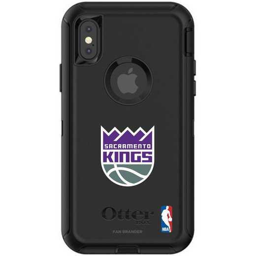 IPH-X-BK-DEF-SAC-D101: BL Sacramento Kings OtterBox iPhone X/Xs Defender