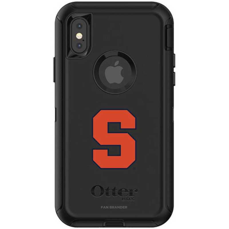 IPH-X-BK-DEF-SYU-D101: FB OB iPhone X and XS Syracuse