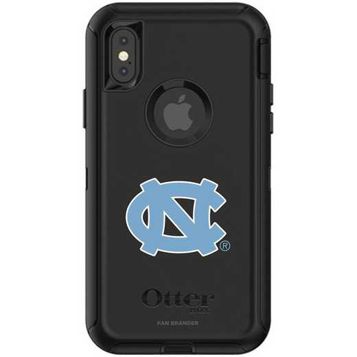 IPH-X-BK-DEF-UNC-D101: FB OB iPhone X and XS North Carolina