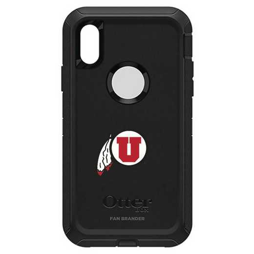 IPH-X-BK-DEF-UT-D101: FB OB iPhone X and XS Utah