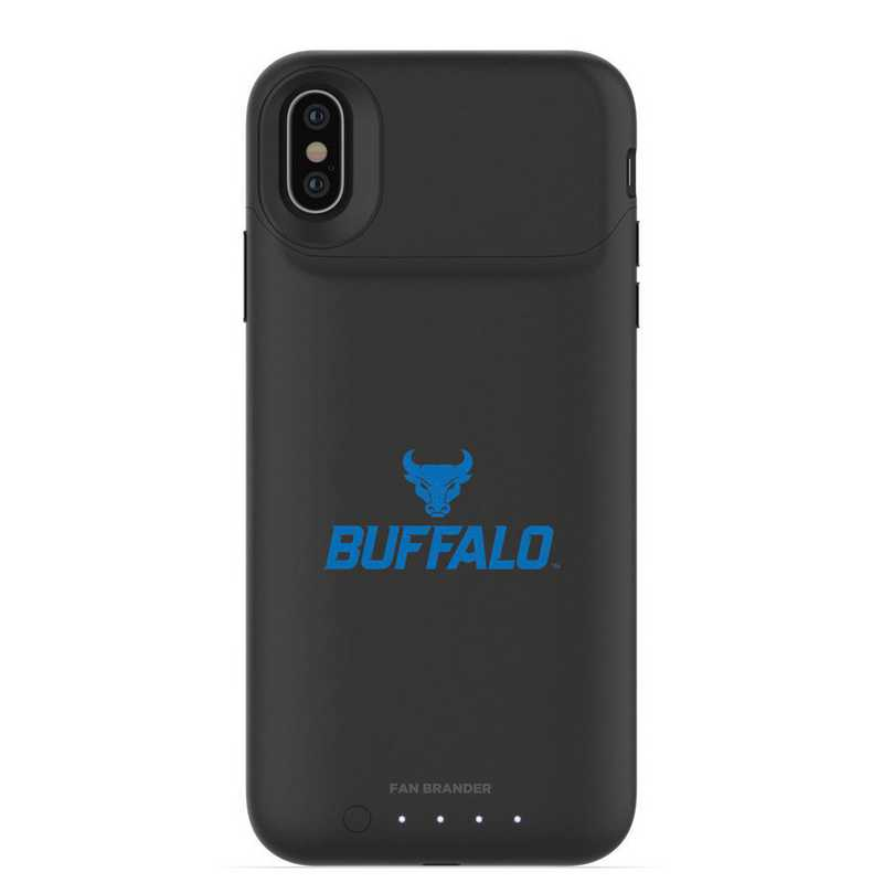 IPH-X-BK-JPA-BUFB-D101: FB Buffalo Bulls mophie iPhone X and XS