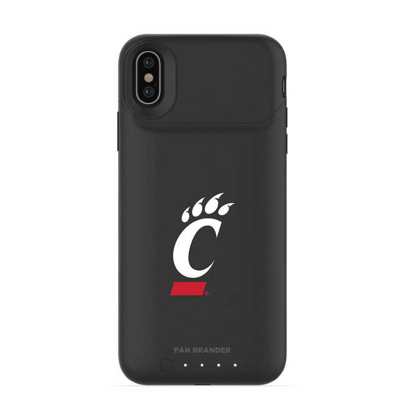 IPH-X-BK-JPA-CIN-D101: FB Cincinnati Bearcats mophie iPhone X and XS