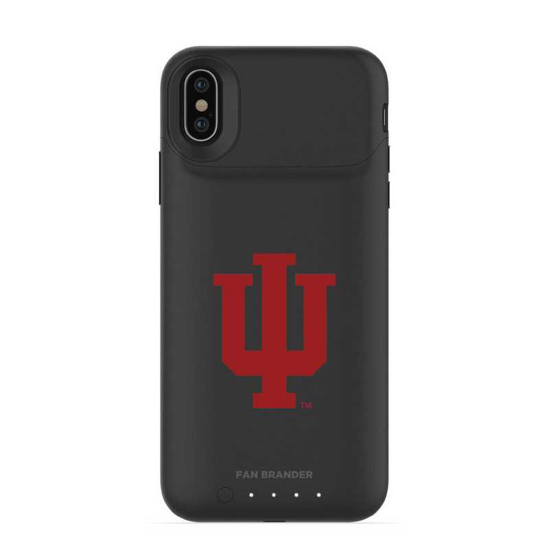 IPH-X-BK-JPA-IU-D101: FB Indiana Hoosiers mophie iPhone X and XS