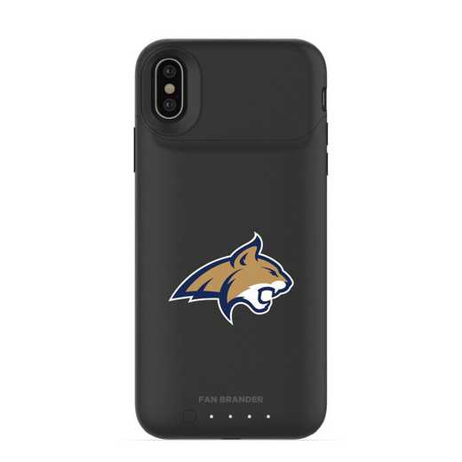 IPH-X-BK-JPA-MTST-D101: FB Montana State Bobcats mophie iPhone X and XS