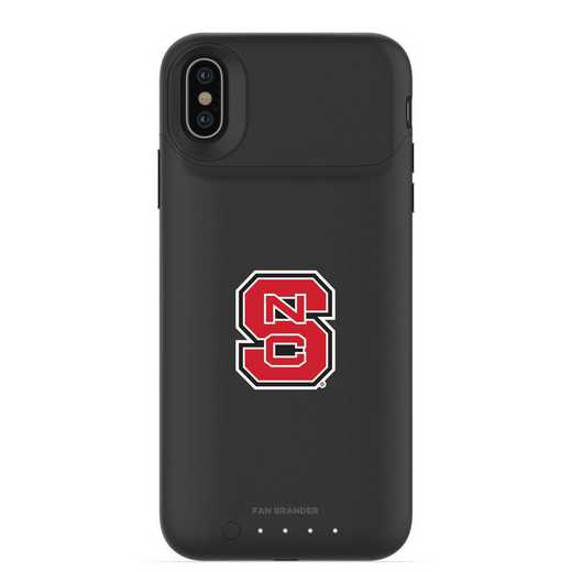 IPH-X-BK-JPA-NCS-D101: FB NC State Wolfpack mophie iPhone X and XS