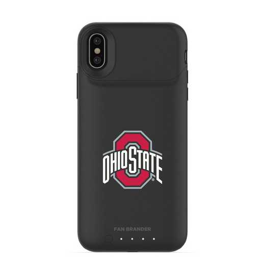 IPH-X-BK-JPA-OHS-D101: FB Ohio State Buckeyes mophie iPhone X and XS