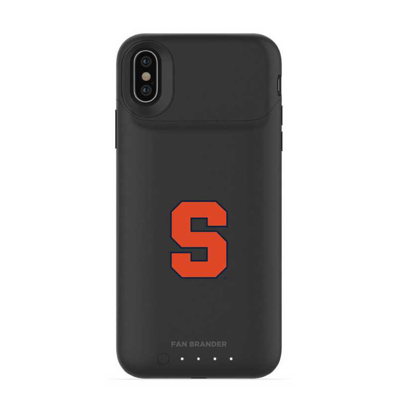 IPH-X-BK-JPA-SYU-D101: FB Syracuse Orange mophie iPhone X and XS