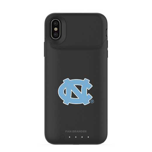 IPH-X-BK-JPA-UNC-D101: FB UNC Tar Heels mophie iPhone X and XS