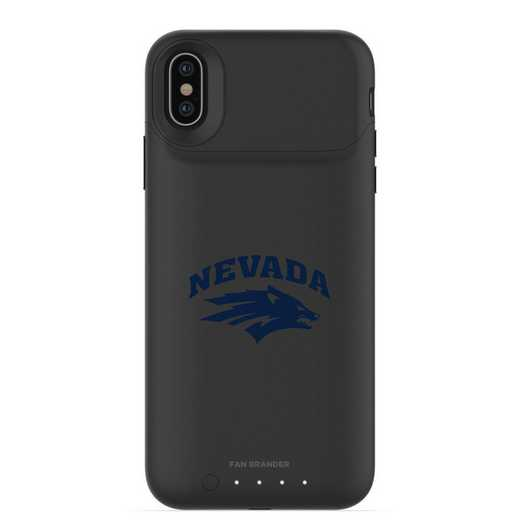 IPH-X-BK-JPA-UNR-D101: FB Nevada Wolf Pack mophie iPhone X and XS
