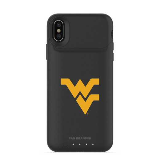 IPH-X-BK-JPA-WV-D101: FB West Virginia Mountaineers mophie iPhone X and XS