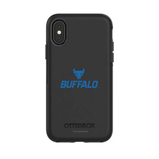 IPH-X-BK-SYM-BUFB-D101: FB OB iPhone X and XS Buffalo