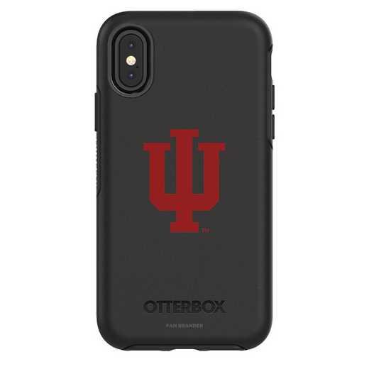 IPH-X-BK-SYM-IU-D101: FB OB iPhone X and XS Indiana