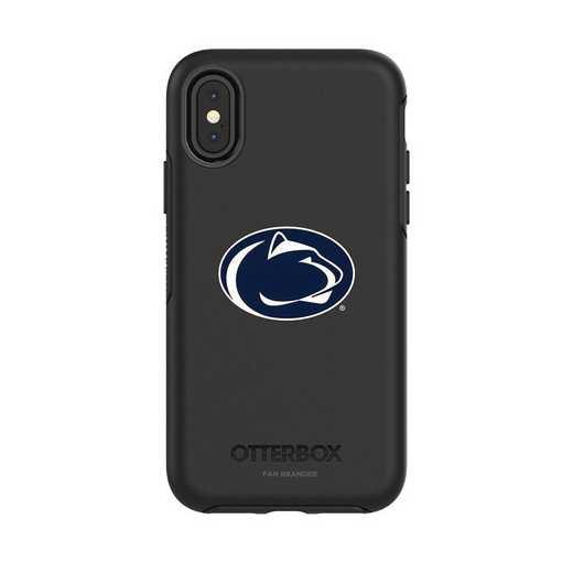 IPH-X-BK-SYM-PST-D101: FB OB iPhone X and XS Pennsylvania State