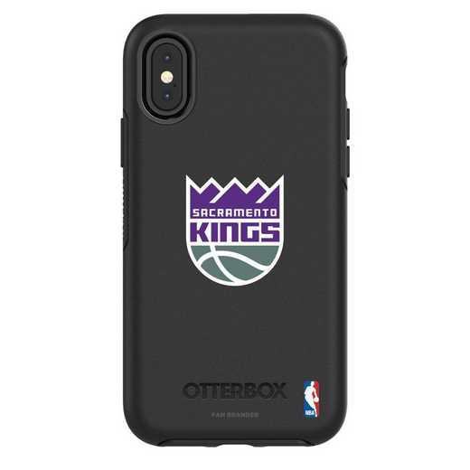 IPH-X-BK-SYM-SAC-D101: BL Sacramento Kings OtterBox iPhone X/Xs Symmetry