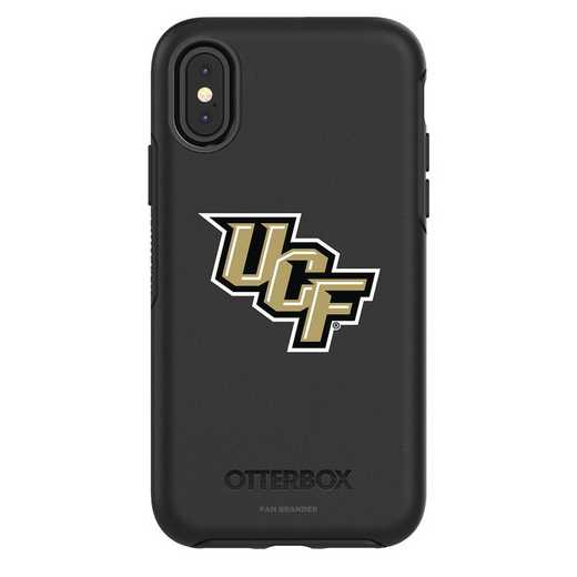 IPH-X-BK-SYM-UCF-D101: FB OB iPhone X and XS Central Florida