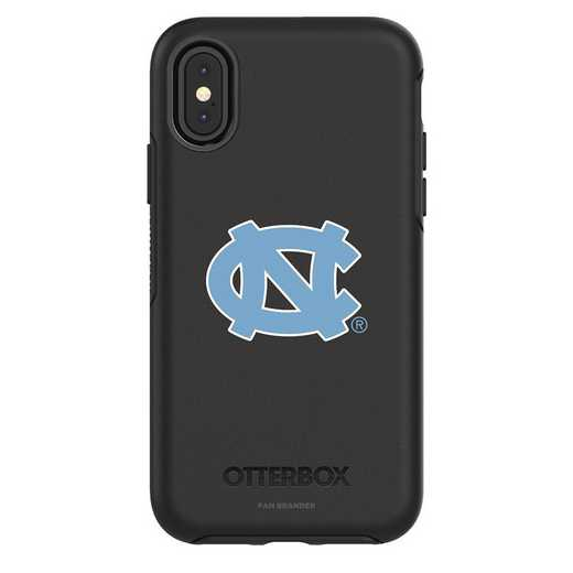 IPH-X-BK-SYM-UNC-D101: FB OB iPhone X and XS North Carolina
