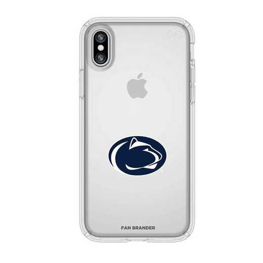 IPH-X-CL-PRE-PST-D101: Penn State Nittany Lions Speck iPhone X/Xs Presidio Clear