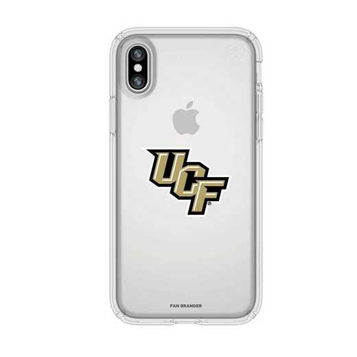 IPH-X-CL-PRE-UCF-D101: UCF Knights Speck iPhone X/Xs Presidio Clear