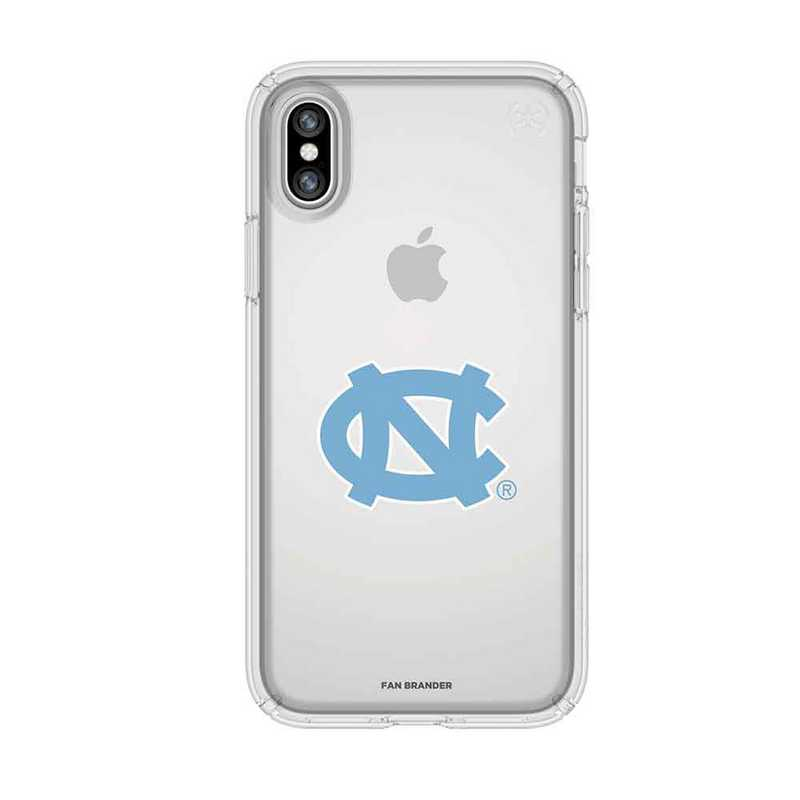 Speck Clear iPhone X/Xs Presidio Clear series case with UNC Tar Heels