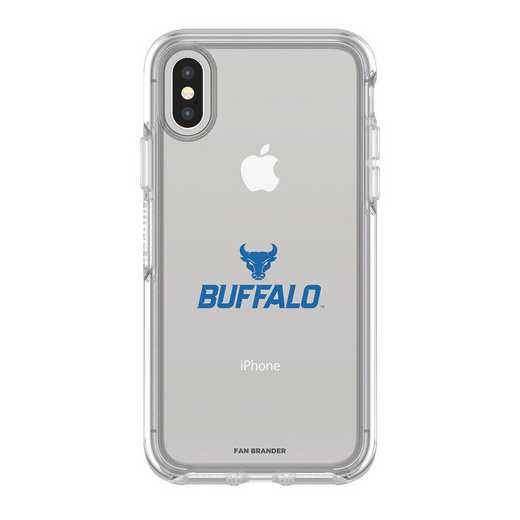 IPH-X-CL-SYM-BUFB-D101: FB OB iPhone X and XS Buffalo