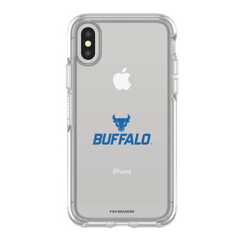IPH-X-CL-SYM-BUFB-D101: FB OB iPhone X and XS Buffalo